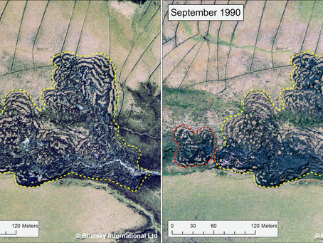 Bluesky's Old Aerial Photos Help Geomatics Students Monitor Landforms