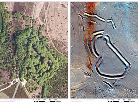 Bluesky 3D Laser Maps AONB for Archaeological Studies