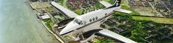 Bluesky Ireland aerial survey plane