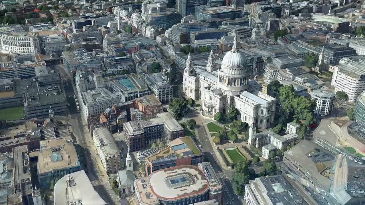 Bluesky London CityMapper Skyline Video
