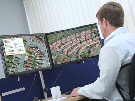 Bluesky Maps Solar Potential of 100,000 Properties