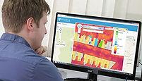 Online thermal heat loss portal