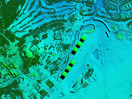 Bluesky's LiDAR Surveys Hampshire Towns and Home of the British Army