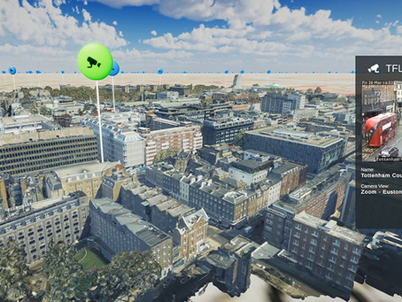 Bluesky MetroVista Mesh Models Underpin Dynamic Map of London
