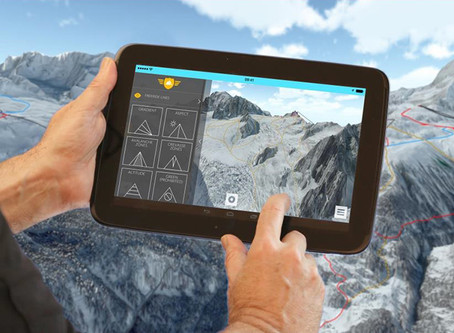Bluesky Partners FATMAP to Create Interactive 3D Ski (M)apps
