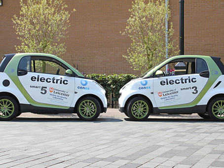 Bluesky Funds Use of Electric Vehicles to Measure Pollution