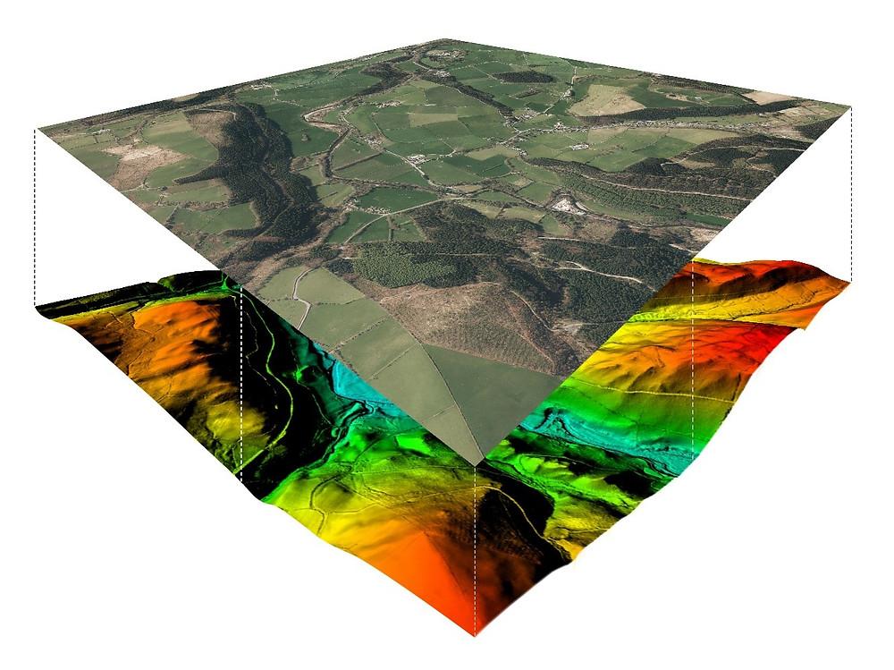 Aerial Photo Orthorecitification