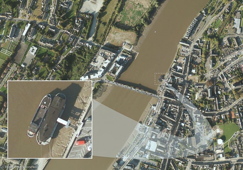 Bluesky Ireland aerial photo milestone