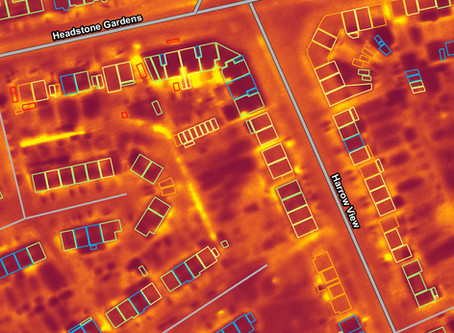 Bluesky Aerial Survey Data Helps Harrow Council Tackle Growing Beds in Sheds Problem