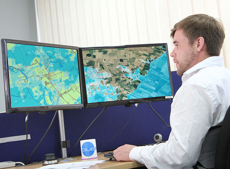 UK Flood Map New for Bluesky Mapshop