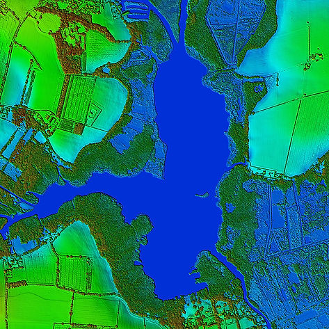 Map Of Ireland 3d.Bluesky To 3d Laser Map Environmental Features In Ireland Aerial