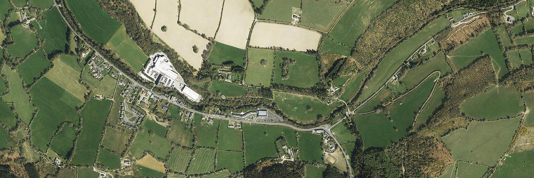 Bluesky Ireland aerial photo