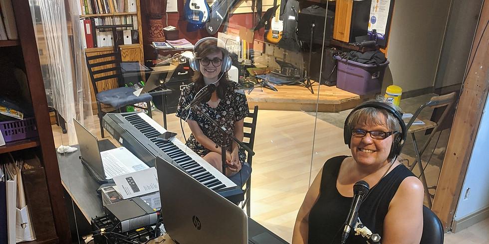 Zoom Singing with Liisa Nessim and Laura Wheeler