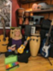 Liisa Nessim music teacher fraser valley abbotsford british columbia guitar piano voice joy vox conductor community choir