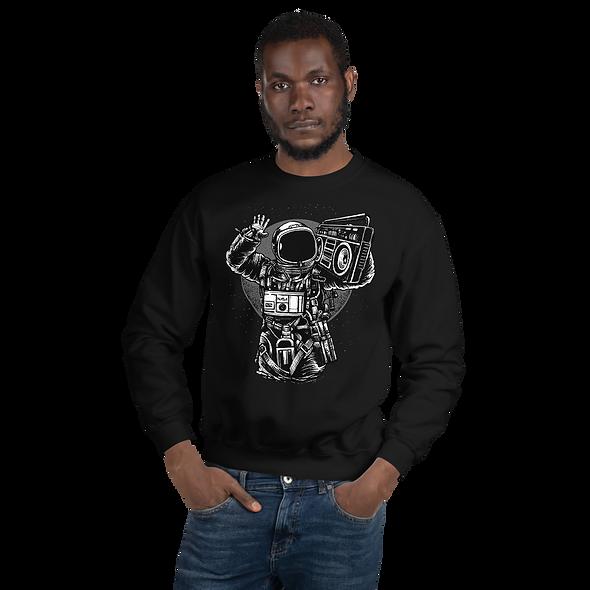 Astronaut Boombox Premium Sweatshirt