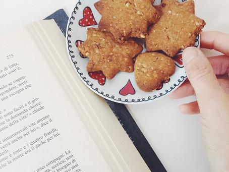 Biscottini alle nocciole: vegan e senza zucchero.
