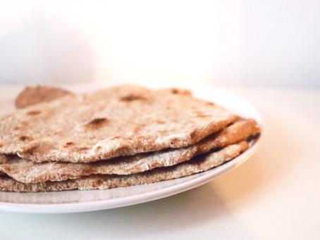 Ricetta del Chapati integrale: l'alternativa senza grassi alle piadine