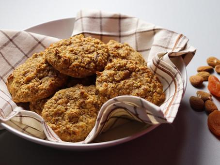 Biscotti all'avena vegani e senza zucchero
