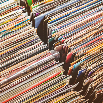 Stacks of Records
