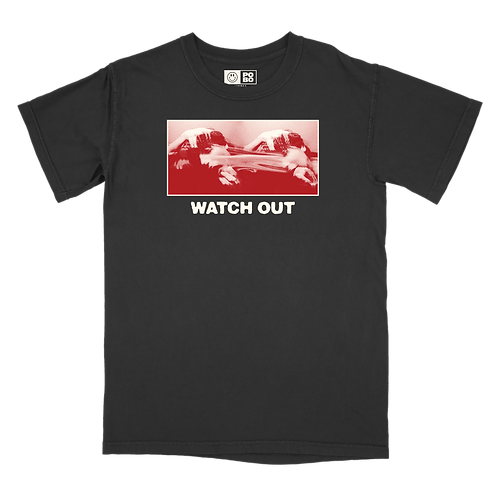 WATCH OUT COVER TEE
