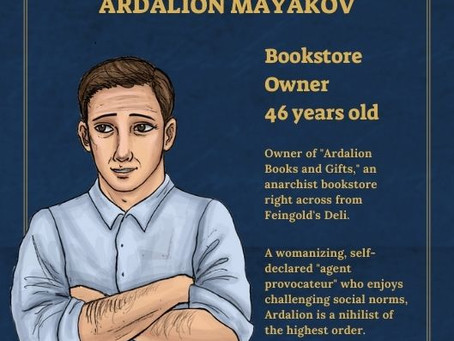 Ardalion Ivanovich Mayakov - Character Profile