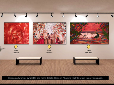 """""""The Modern Tantalus"""" in """"In the History"""" Exhibition at The Artist Lounge!"""