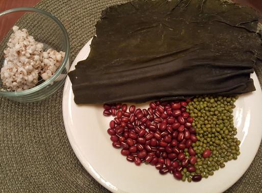 海帶紅豆綠豆薏米湯 - 降血壓、降膽固醇、降血糖、防糖尿病