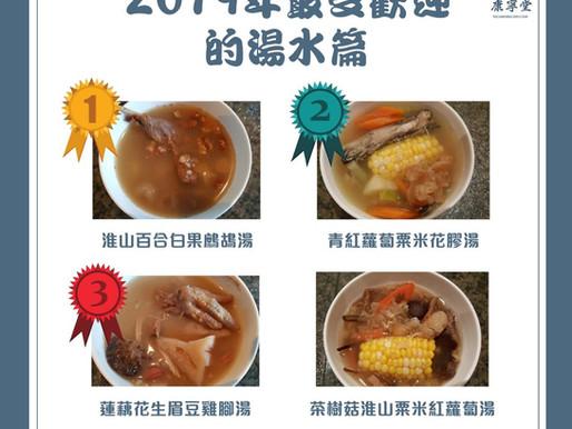 2019年最受歡迎的湯水篇!Most Popular Soups of 2019
