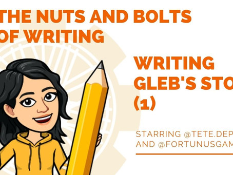 Podcast Series: The Nuts and Bolts of Writing!