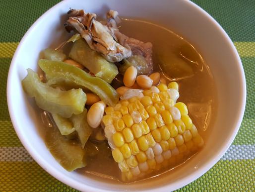 苦瓜粟米黃豆蠔豉湯 - 清熱消暑、防三高、改善糖尿病、利尿去水腫、瘦身減肥