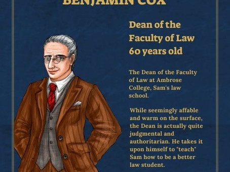 Benjamin Cox - Dean of the Faculty of Law - Character Profile