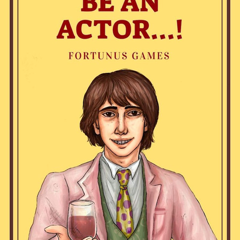 I Want to be an Actor...! Cover.jpg