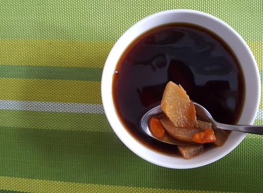 羅漢果雪梨陳皮杞子茶 – 化痰止咳、健脾化氣、清熱明目、舒緩胃脹