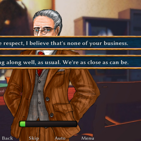 Character Interaction Screenshot