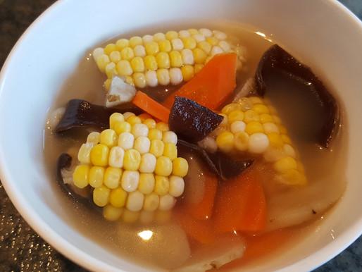 黑木耳牛蒡粟米紅蘿蔔瘦肉湯 - 健脾益氣、降尿酸、養胃、減肥瘦身、防三高、防癌、活血