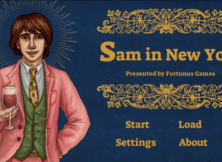 """""""Sam in New York"""" by Fortunus Games"""