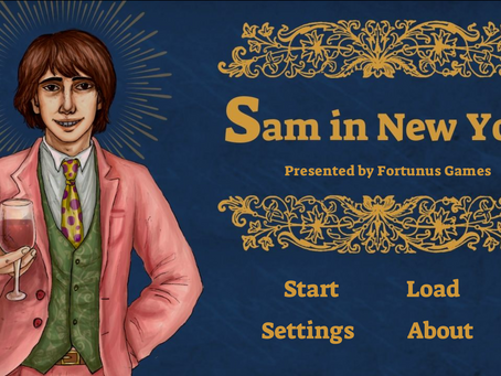 """Sam in New York"" by Fortunus Games"