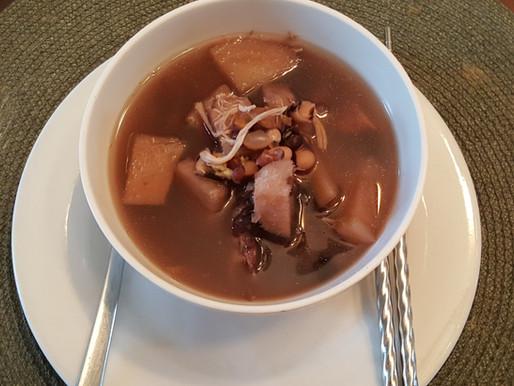 冬菇眉豆黑豆栗子粉葛湯 – 去濕清熱、瘦身去水腫、健脾補腎、烏髮潤膚、防三高。