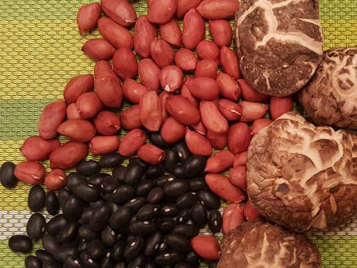木瓜冬菇黑眉豆花生雞腳湯 - 健脾袪濕、補腎、防骨質疏鬆、抗衰老、去水腫