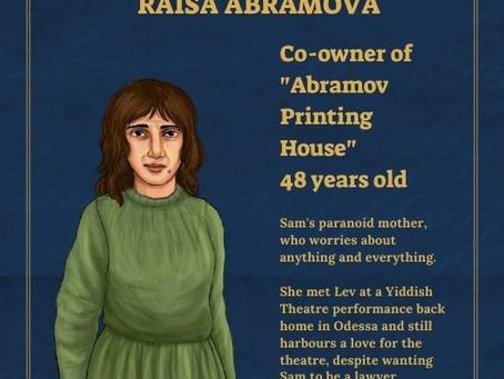 Raisa Abramova - Character Profile