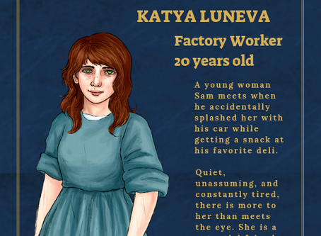 Katya Luneva - NPC File
