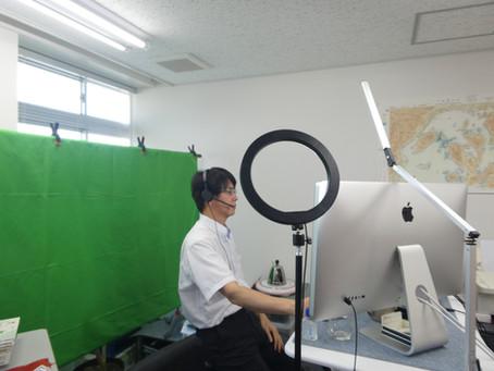 OBSとSnapCameraで遠隔授業