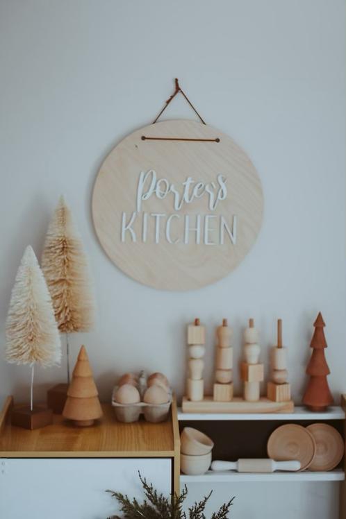 Kid's Kitchen Round