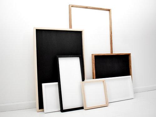 Custom Wooden Framed Sign