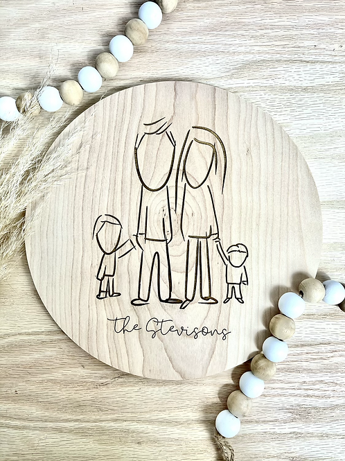 Custom Family Drawing