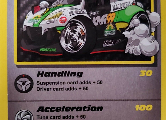 KMR RX8 - Chicane Trading Cards Formula Drift Limited Edition
