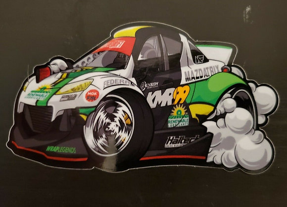 KMR 2021 Formula D Art Decal ( Limited production )