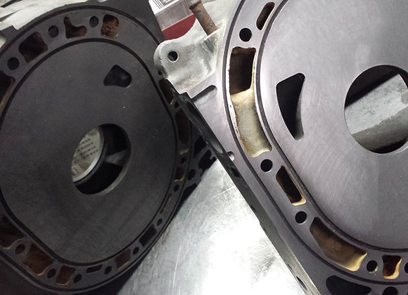 Lapping ( Side plate surfacing )