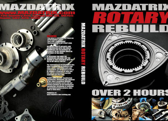 DVD How To Rebuild your Rotary