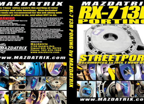 DVD How To Port a Rotary Engine